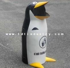 Thùng rác chim cánh cụt 90 lít