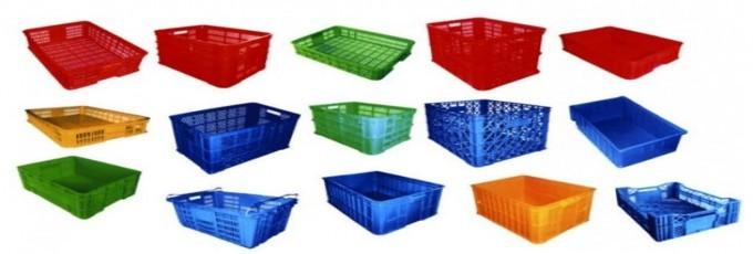 Rổ nhựa, sóng nhựa, thùng nhựa